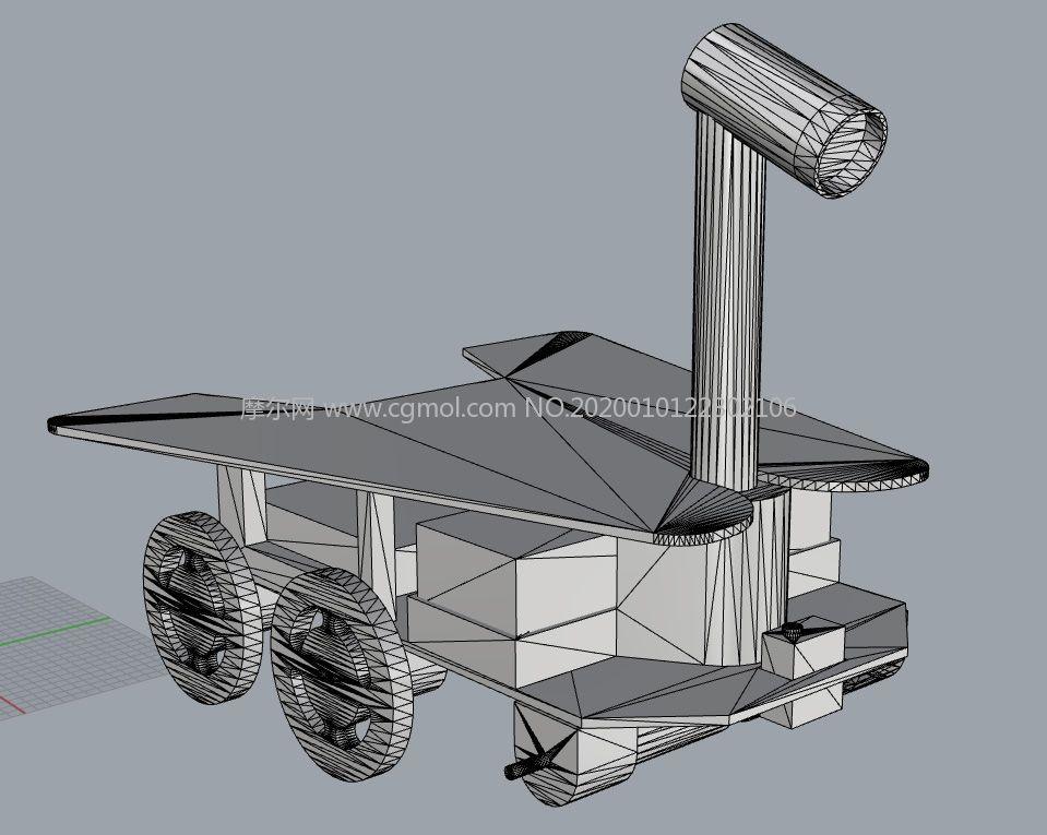 月球�STL模型