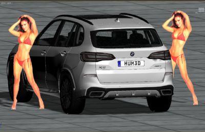 ���RX5汽�3D模型中模