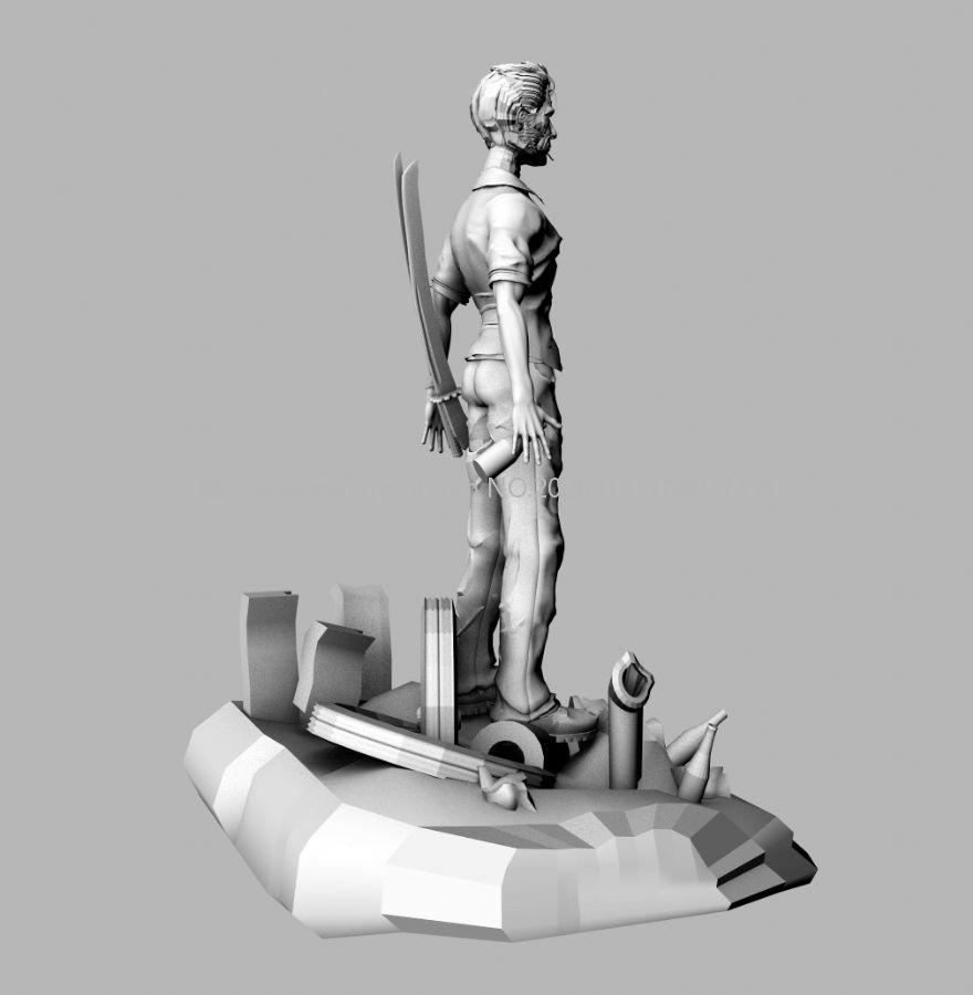 喝酒�κ课涫�,中年���獯笫�maya模型