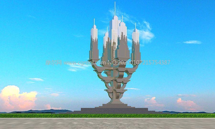 盛世之城雕塑�O�方案三