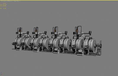 未來工業設備3D模型