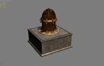 橢圓地動儀3D模型