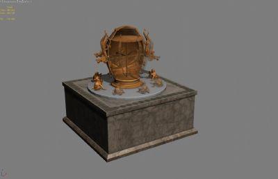 地��x3D模型