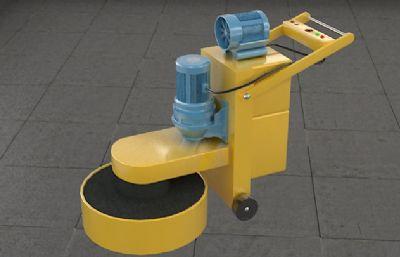 水磨機3D模型
