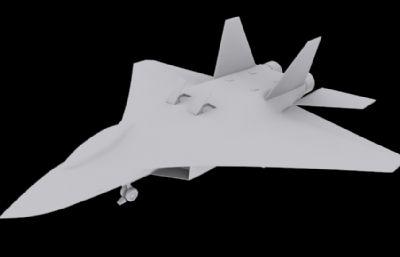 J-18��C3D模型白模