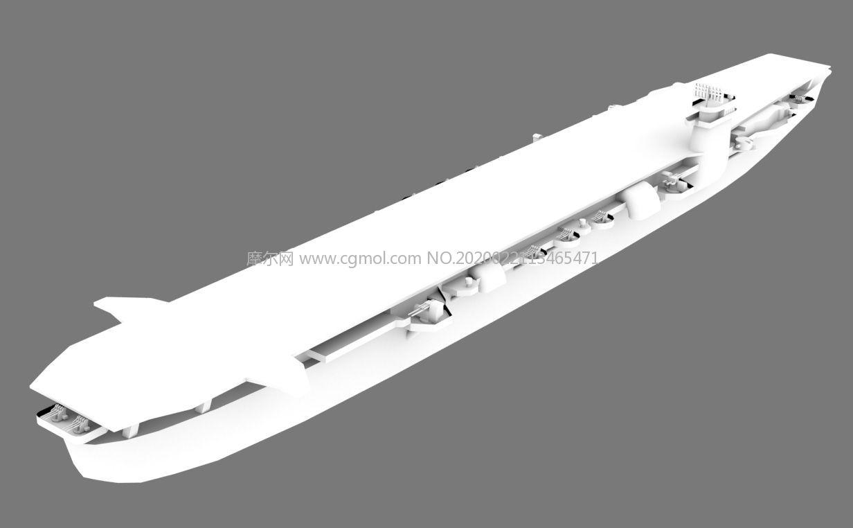 �合��千�q�航空母�OBJ模型