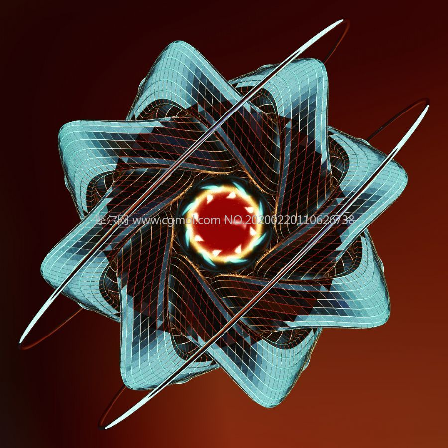 Subatomic��原子�Y��模�MC4D模型