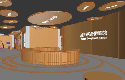 威���h�R�薯博物�^3D模型素模