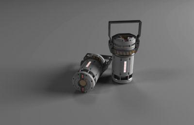 能量�池,能量源maya模型