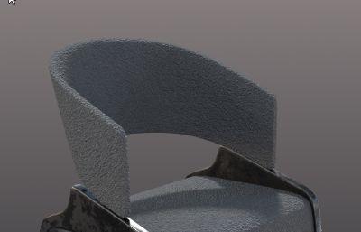 休闲椅,办公椅3D模型