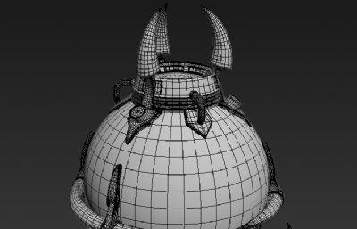 能量容器3D模型白模