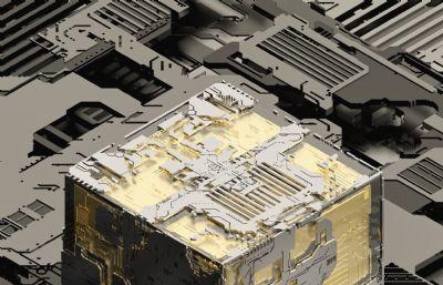 金色�路方�KC4D模型