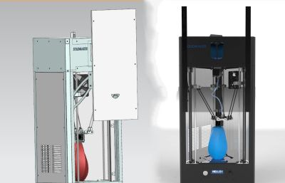 家用小型3D打印�CSTP,X_T格式模型