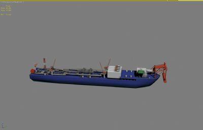 原油�\�船,原油船3D模型