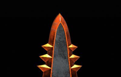 魔劍,神劍OBJ模型