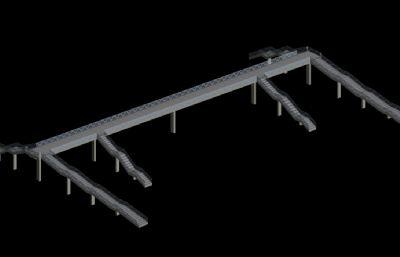 低面�堤��3D模型