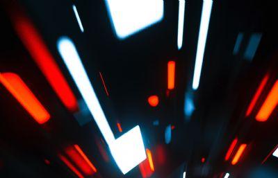 穿梭�r光隧道C4D�赢�模型
