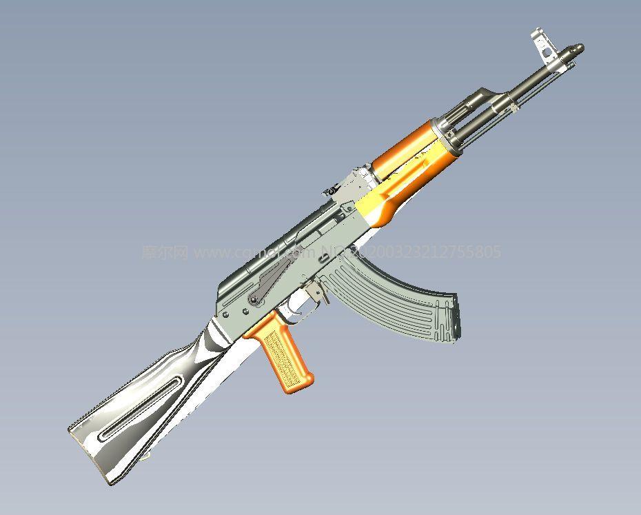 AKM自�硬��,AK步��STP格式模型