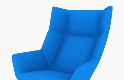室�刃蓍e沙�l椅3D模型