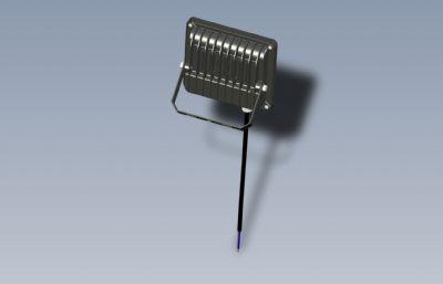 拍�z用LED大光源STEP格式模型