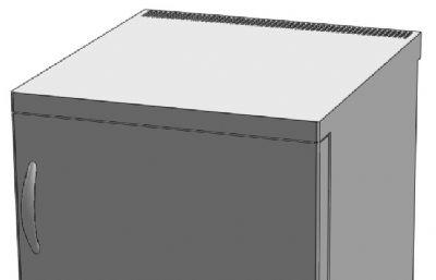 小冰箱solidworks�D�模型