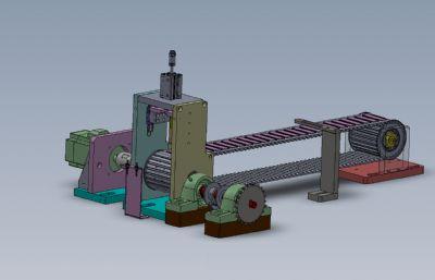 片刀式自�踊�包�b�Csolidworks�D�模型