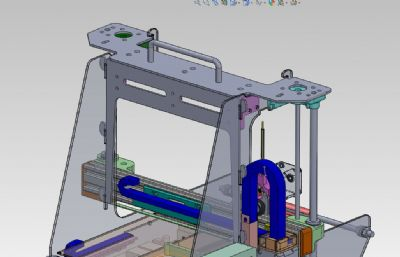3D打印�C�Y��Solidworks�D�模型,附IGS格式