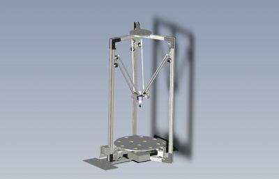 三角架�Y��的3D打印�CSTEP格式模型