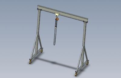 ���T吊,�T式起重�CSolidworks�D�模型,附IGS,STEP格式文件
