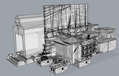 耶路撒冷城市建筑3D打印模型,STL格式