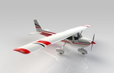 小型�w�C3D模型,STEP格式模型