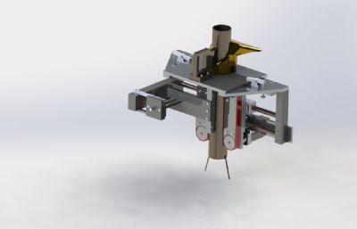 立式產品包裝機IGS格式模型