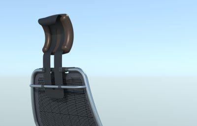 真皮夏季辦公椅模型solidworks圖紙模型