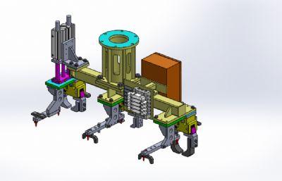 �C械手�A具solidworks�D�模型