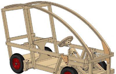 木�|四�框架�,木�solidworks�D�模型