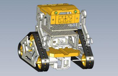 三角履��C器人STEP格式模型