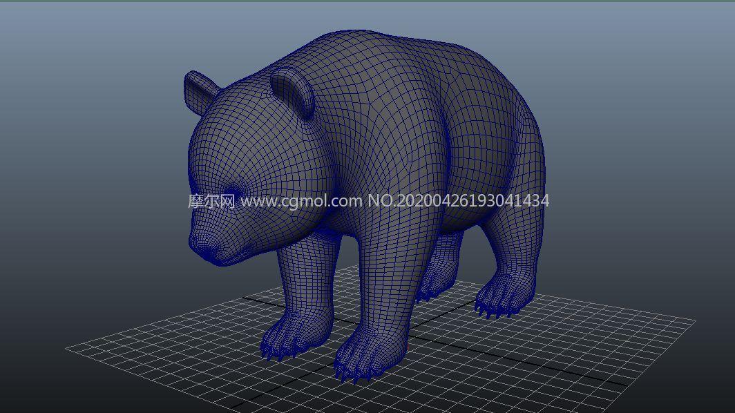 影������熊�建模maya模型,�Ы�定,�N�D全,MB,FBX�煞N格式