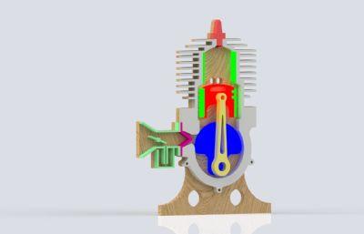 �热�C��造�易平面演示Solidworks�O�模型