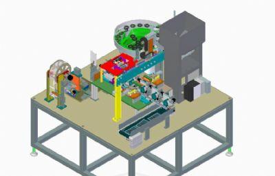 汽�油封塑料包�b�O��STEP格式模型
