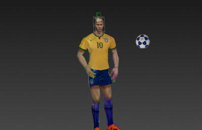 �锐R��-足球�\��T3D模型,�У�旖疸^�幼�