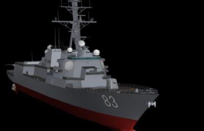 阿��伯克�逐�3D模型素模