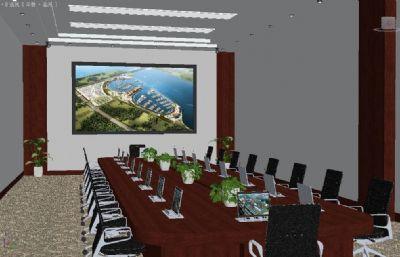 多功能智慧���h室,升降器系�y,室�冉ㄖ�3d模型