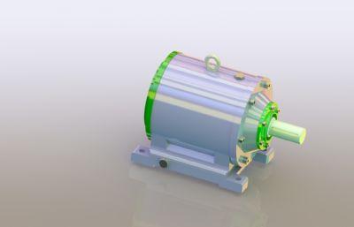 ��C�p速器Solidworks�D�模型