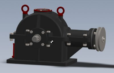 一��F�X��p速器Solidworks�O��D�模型