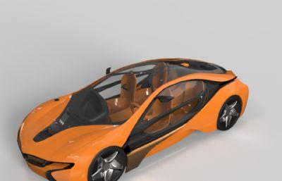 ���R概念�,跑�-犀牛建模,3DM格式