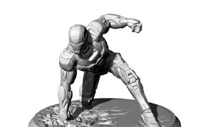 鋼鐵俠MK42STL格式模型,可3D打印