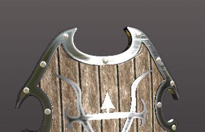 木�|盾牌3D模型