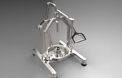 洋�[切碎�C,切洋�[�C器Solidworks�D�模型