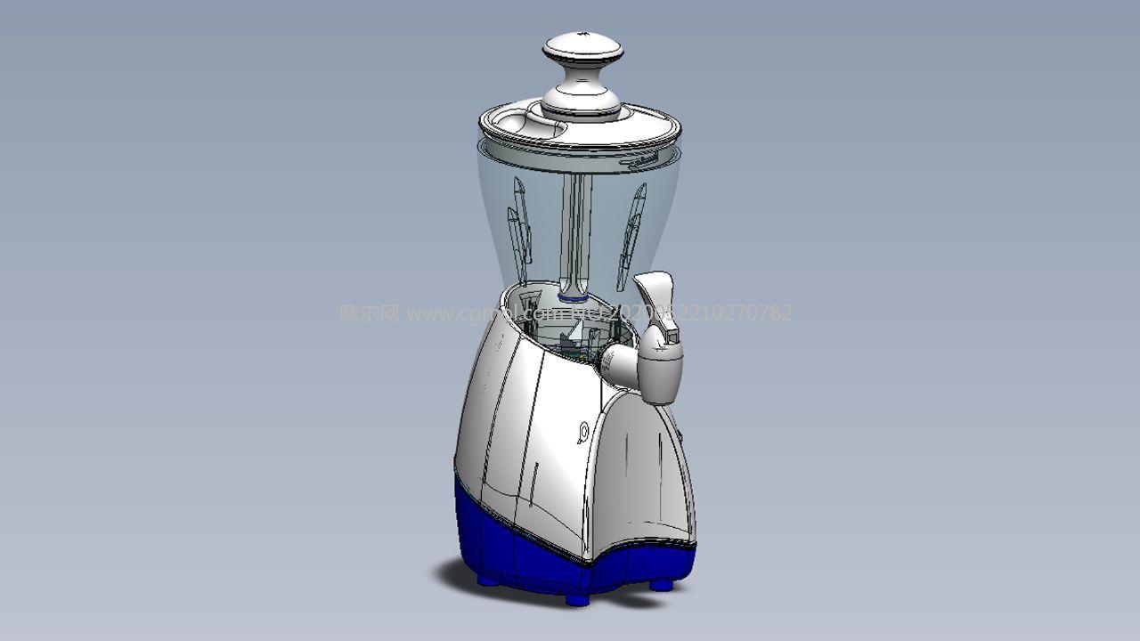 家用冰沙�C,碎冰�CSolidworks2020�D�模型