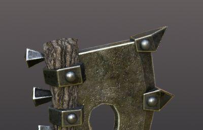 短手斧3D模型